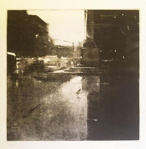 Rain, Copley Square