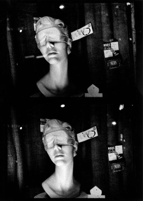 Sleep masks, ca. 1970
